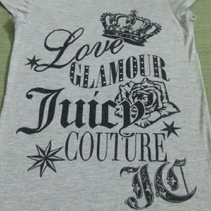 JUICY COUTURE BEAUTIFUL TOP LIKE NEW EXCELLENT